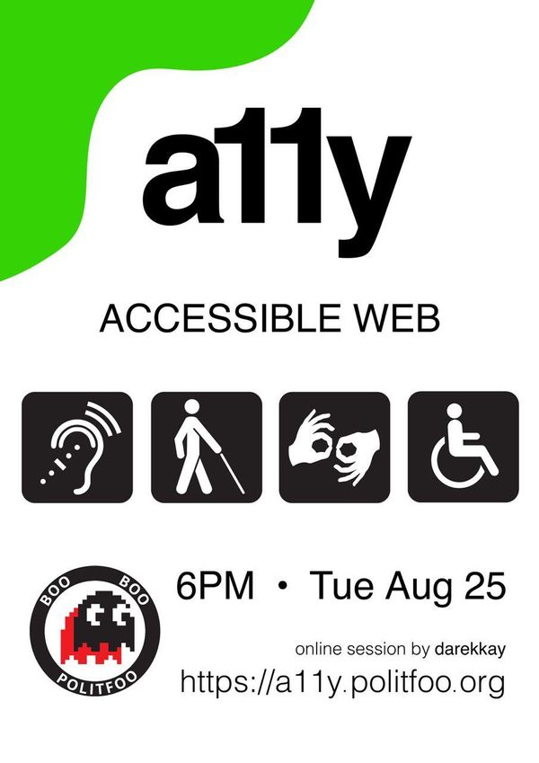 "Link for the Talk ""Accessible Web"""